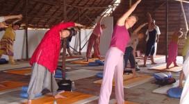 posture yogasana pranayama