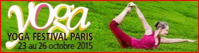Yoga Festival 2015 acceuil
